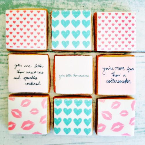 Valentine designed gift box