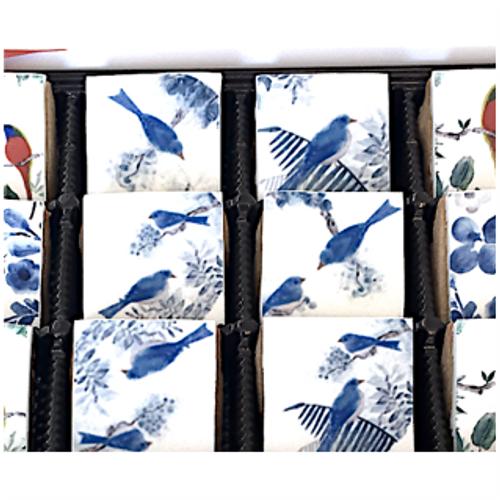 Darbie Angell - Bird Art - 12 mini cookie gift set