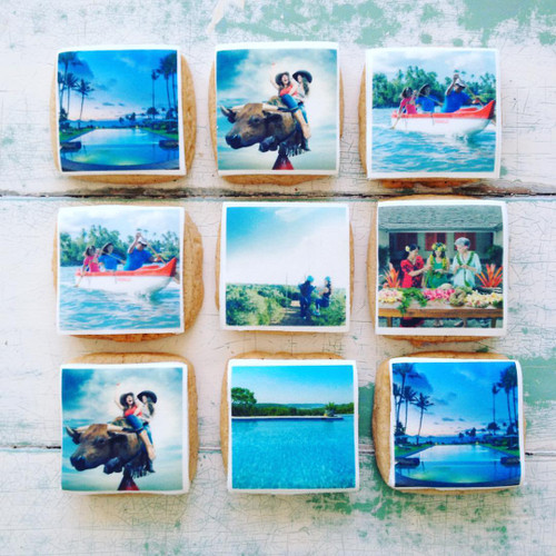 photo and logo cookies
