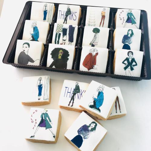 Robin Colton - Fall Designs - 12 mini cookie gift set