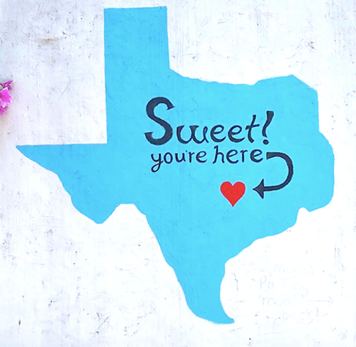 Sweet you're here