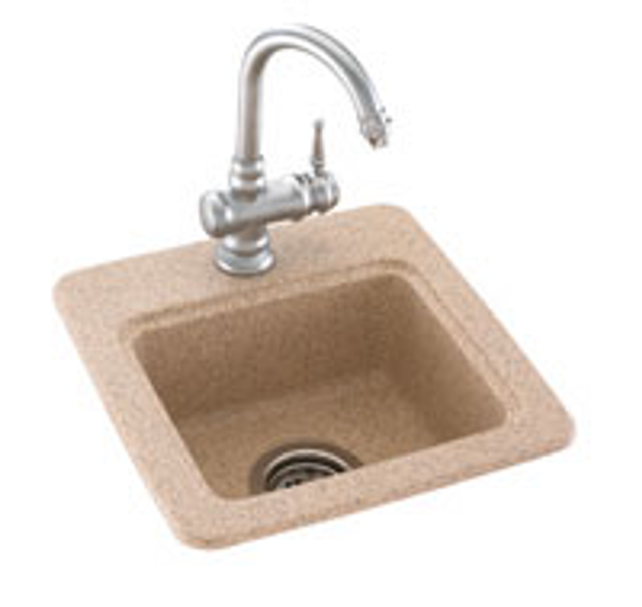Swanstone Bs 1515 Entertainment Sink Aggregate Color Swanstone Products Eplumbing Products Inc
