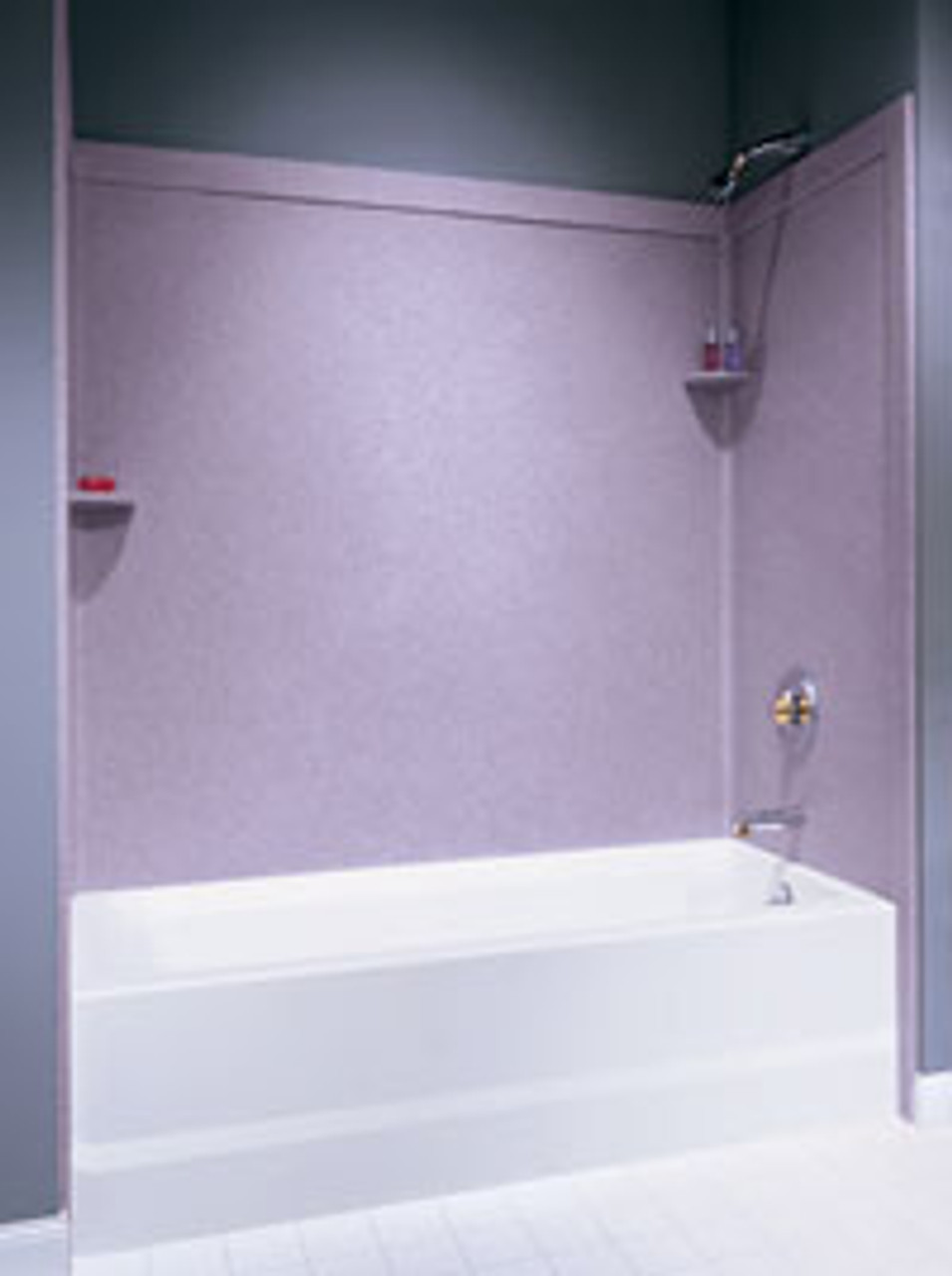Swanstone Ssit 60 3 Bathtub 3 Panel Wall Kit With Integral Trim Aggregate Color Swanstone Products Eplumbing Products Inc