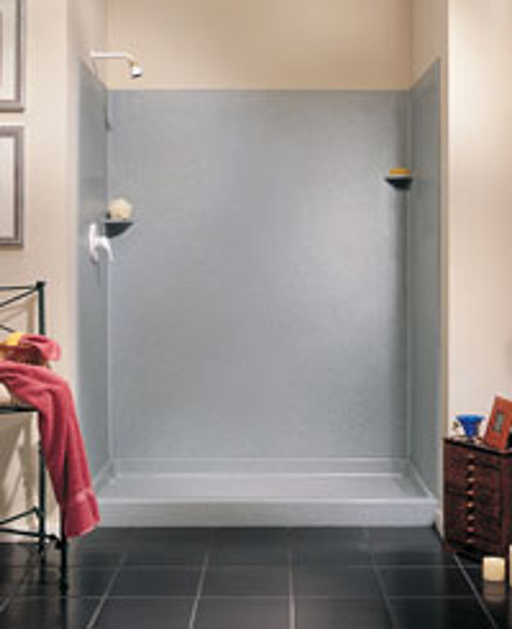 Swanstone Sk 364896 Solid Surface Shower Wall Kit 36 X 48 X 96