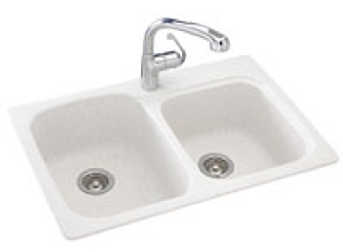 Swanstone KSDB-3322 Double Bowl - Solid Color