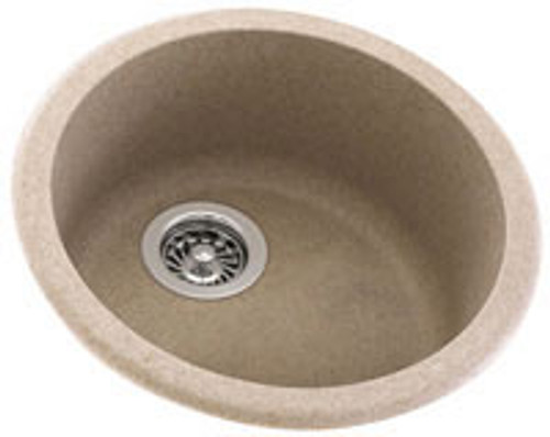 Swanstone KSRB-18 Round Bowl - Solid Color