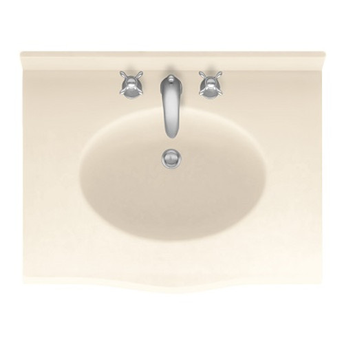 "Swanstone EV1B2225 Europa Vanity Top 22-1/2""D x 25""W - Aggregate Color"