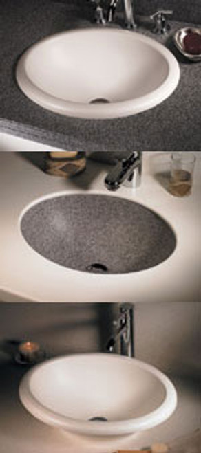 Swanstone TRI-1815HL Hilo Vanity Bowl - Solid Color