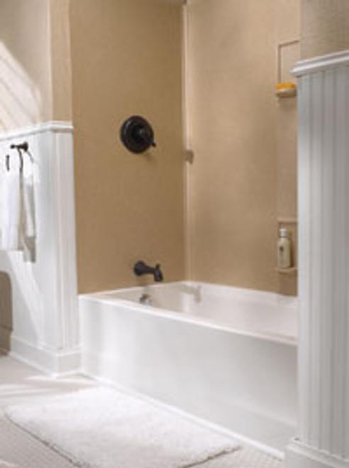 Swanstone SS-60-5 Bathtub 5-Panel Wall Kit - Solid Color