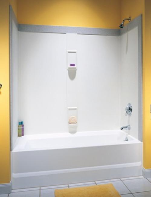 Swanstone SS-60-5 Bathtub 5-Panel Wall Kit - Aggregate Color