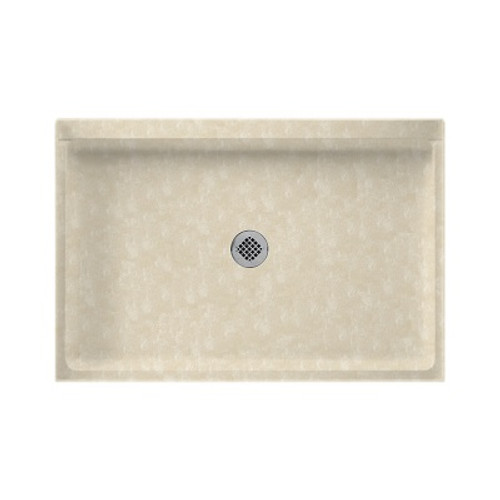 """Swanstone SS-3248 Single Threshold Shower Floor 32"""" x 48"""" - Solid Color"""