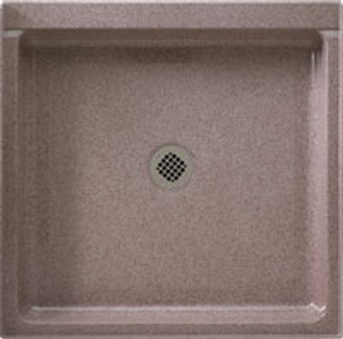 """Swanstone SS-3636 Single Threshold Shower Floor 36"""" x 36"""" - Solid Color"""