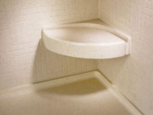 Swanstone Cs 1616 Corner Shower Seat Aggregate Color