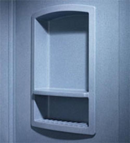 Swanstone RS-2215 Recessed Shampoo Shelf - Aggregate Color