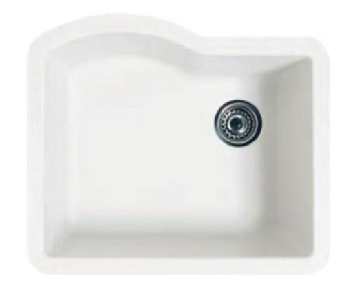 Swanstone QUSB-2522 Granite Undermount Single Bowl