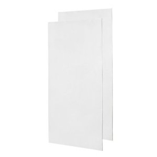 Swanstone SS-3672-2 Double Panel Shower Wall-Solid Color