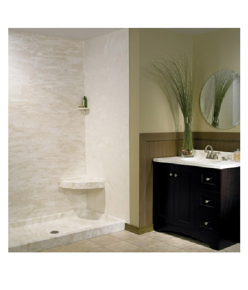 """Swanstone SK-484896 Shower Wall Multi Kit 48"""" x 48"""" x 96"""" - Aggregate Color"""