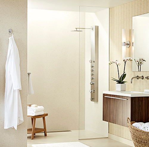 """Swanstone CCSK72-3648 Shower Crystal Color Wall Kit 36"""" x 48"""" x 72"""""""