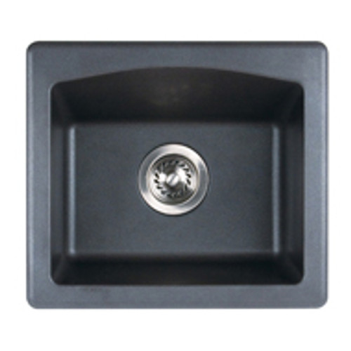 """Swanstone QZBS-1816 Drop-In Granite Bar Sink 18""""W x 16""""D"""