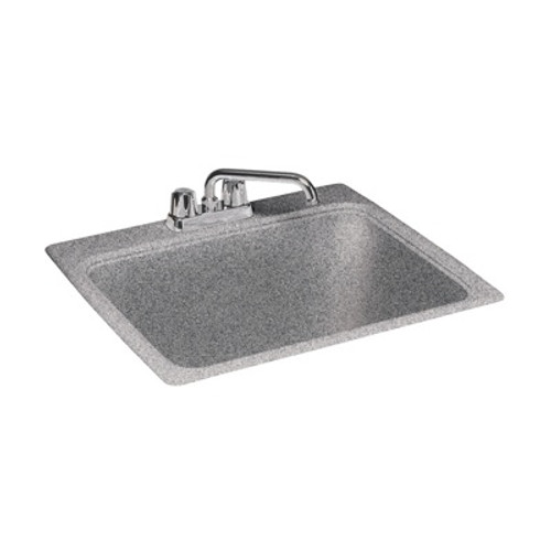 """Swanstone SSUS AC Large Utility Sink 25"""" x 22"""" Aggregate Color"""