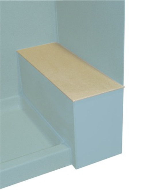 Swanstone SB-1248 Shower Bench Seat Top - Aggregate Color
