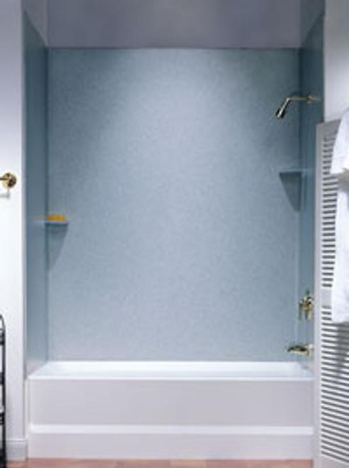 Swanstone SS-60-3 White SwanXpress Bathtub 3-Panel Wall Kit