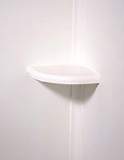 Swanstone ES-2 White SwanXpress Corner Soap Dish