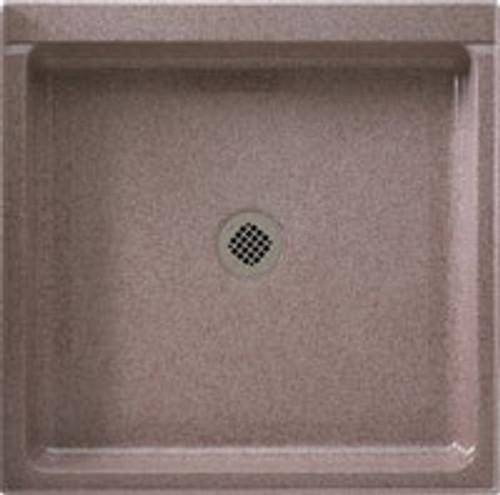 """Swanstone SS-3636 White SwanXpress Single Threshold Shower Floor 36"""" x 36"""""""