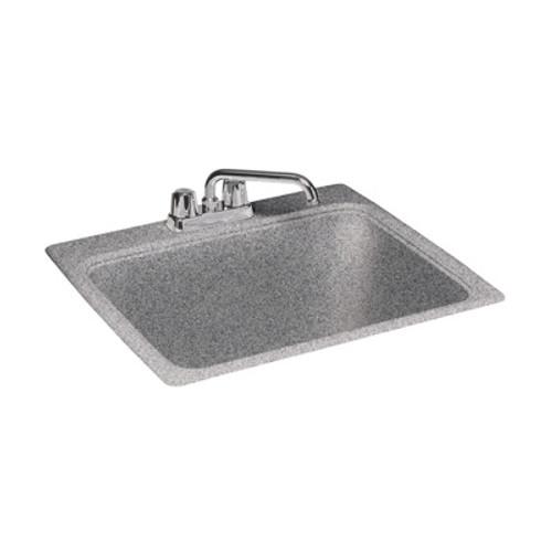 "Swanstone SSUS White SwanXpress Large Utility Sink 25"" x 22"""