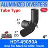 "HDT-49090A 4"" Mack Granite Heat Exhaust Diverter for Dump Bed"