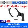 """8"""" x 11"""" Oval HD Muffler Hanger International H-IHM6A"""