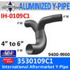 3530109C1 International 9400-9900 Exhaust Y-Pipe IH-0109C1