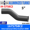 1675758C2 International 8200 Daycab Turbo Exhaust IH-5758C2