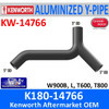 K180-14766 Kenworth Exhaust Aluminized Y-Pipe W900-T600-T800