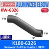 """K180-6326 Kenworth Exhaust Double 30 Degree Bend 5"""" Elbow"""