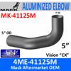4ME-41125M Mack Vision CX Exhaust Elbow MK-41125M