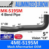 4ME-5195M Mack Vision CX Exhaust Elbow MK-5195M