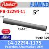 14-12294-1175 Peterbilt 379 Aluminized Exhaust Pipe PB-12294-11