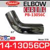 14-13056C Peterbilt 379 Chrome Exhaust 67 Degree Elbow PB-13056C,09-8-170-222