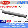"14-13940-0460 Peterbilt 357,378,379 Center Pipe for Dual Exhaust 5"" x 18"""