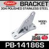 Polished SS Bracket for Peterbilt 379 PB-14186S & 14-14186