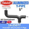 "14-25077 Peterbilt Exhaust 5"" Y-Pipe PB-25077"