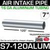 """7"""" x 120"""" 16 GA Aluminum Air Intake Pipe S7-120ALUM"""