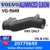 20779649 Volvo Exhaust Turbo Pipe VG-9649