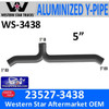 23527-3438 Western Star Heritage Y-Pipe Exhaust