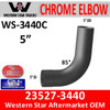 Western Star 23527-3440 Chrome Elbow