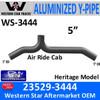 23529-3444 Western Star Heritage Air-Ride Y-Pipe Exhaust
