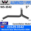 Western Star 23529-3542 Y-Pipe Exhaust