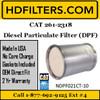 261-2318 CAT C9 DPF Diesel Particulate Filter