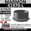 "5"" Marmon Flange 5.79 Bead 304 Stainless Steel 41970-L"